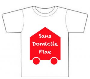 SDF logo grand t-shirt