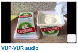 VUP:VUR audio
